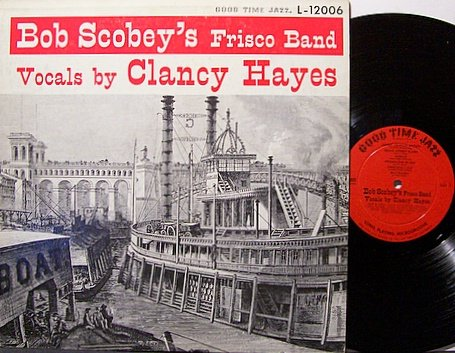 Scobey, Bob - Bob Scobey's Frisco Band - Vinyl LP Record - Jazz