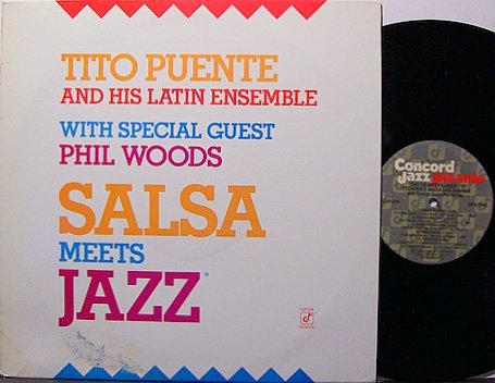Puente, Tito - Salsa Meets Jazz - Vinyl LP Record - Latin Jazz