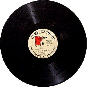 Peterson, Oscar - Jazz At The Philharmonic - Vinyl LP Record - No Cover