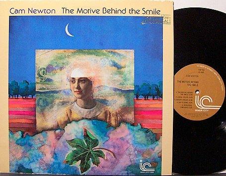Newton, Cam - The Motive Behind The Smile - Vinyl LP Record - Jazz