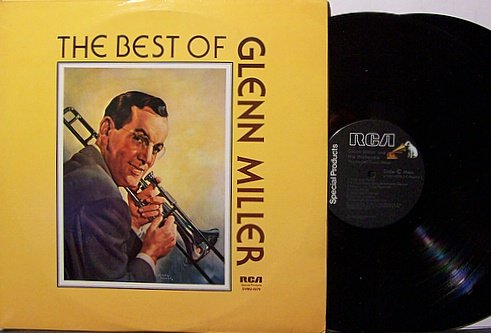 Miller Glenn The Best Of Glen Miller Vinyl 2 Lp