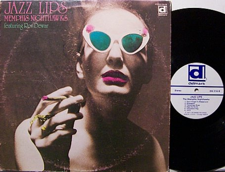 Memphis Nighthawks Featuring Ron Dewar - Hot Lips - Vinyl LP Record - Jazz