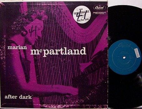 McPartland, Marian - After Dark - Vinyl LP Record - Mono - Jazz