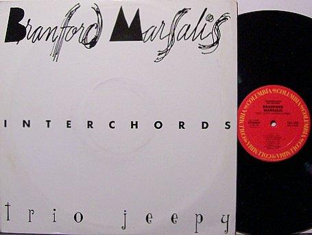 Marsalis, Branford - Interchords / Trio Jeepy - Promo Only - Vinyl LP Record - Jazz