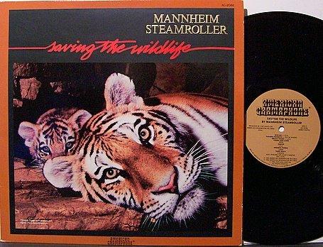 Mannheim Steamroller - Saving The Wildlife - Vinyl LP Record - PBS TV Soundtrack / New Age Jazz