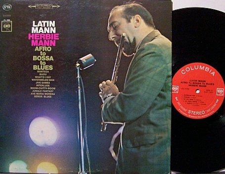 Mann, Herbie - Latin Mann Afro To Bossa To Blues - Vinyl LP Record - Jazz