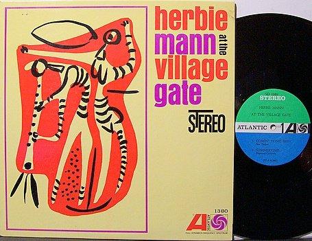 Mann, Herbie - At The Village Gate - Vinyl LP Record - Jazz