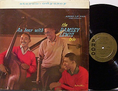 Lewis, Ramsey - An Hour With The Ramsey Lewis Trio - Vinyl LP Record - Jazz