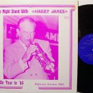 James, Harry - One Night With On Tour In '64 - Vinyl LP Record - Big Band Jazz