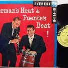 Herman, Woody And Tito Puente - Herman's Heat & Puente's Beat - Vinyl LP Record - Promo - Jazz