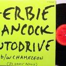 "Hancock, Herbie - Autodrive / Chameleon '83 Dance Remix - Vinyl 12"" Record - Promo - Jazz"