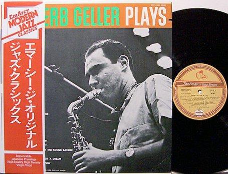 Geller, Herb - Plays - Vinyl LP Record - Japan Pressing With OBI Strip - Jazz