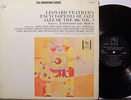 Feather, Leonard - Feather's Encyclopedia Of Jazz Vol. 3 - Vinyl LP Record