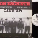 Eschete, Ron - Line Up - Vinyl LP Record - White Label Promo - Jazz