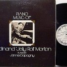 Dapogny, James - Piano Music Of Ferdinand Jelly Roll Morton - Vinyl LP Record - Jazz