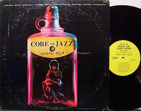 Core Of Jazz - Various Artists - Vinyl Lp Record - Promo