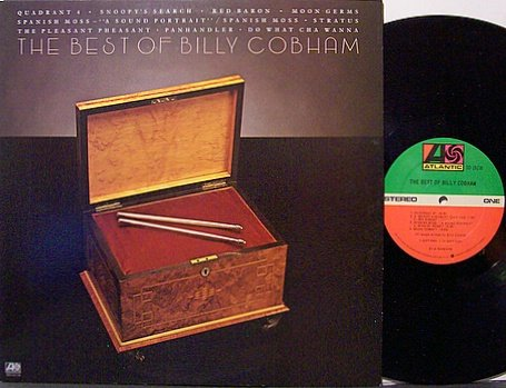 Cobham, Billy - The Best Of Billy Cobham - Vinyl LP Record - Jazz