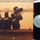 Brecker Brothers, The - Back To Back - Vinyl LP Record - Jazz