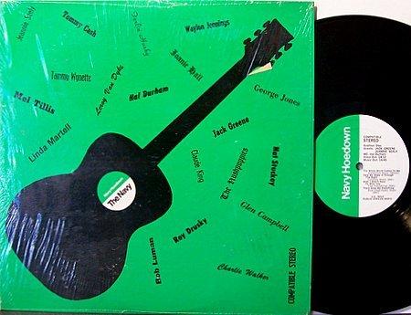 Navy Hoedown Radio Show - Tammy Wynette / George Jones / Jack Greene - Vinyl LP Record - Country