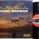 Warwick, Dionne - Here Where There Is Love - Vinyl LP Record - R&B Soul