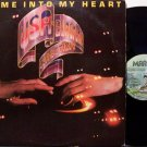 USA European Connection - Come Into My Heart - Vinyl LP Record - Disco Dance
