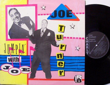 Turner, Joe - Jumpin' With Joe - Vinyl LP Record - UK Pressing - R&B Soul