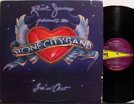Stone City Band - In 'N' Out - Vinyl LP Record - Rick James - R&B Soul Funk
