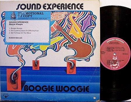 Sound Experience - Boogie Woogie - Vinyl LP Record - R&B Soul
