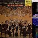 Ross, Diana And The Supremes & The Temptations - On Broadway - Vinyl LP Record - R&B Soul