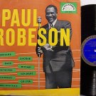 Robeson, Paul - Song Recital - Vinyl LP Record - Czechoslovakia Pressing - R&B Folk / Spiritual