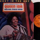 Queen Ida & Her Zydeco Band - Caught In The Act - Vinyl LP Record - R&B Soul