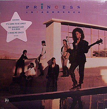 Princess & Starbreeze - Self Titled - Sealed Vinyl LP Record - R&B Soul