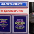Price, Lloyd - 16 Greatest Hits - Vinyl LP Record - R&B Soul