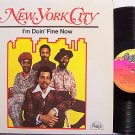 New York City / NYC - I'm Doin' Fine Now - Vinyl LP Record - R&B Soul