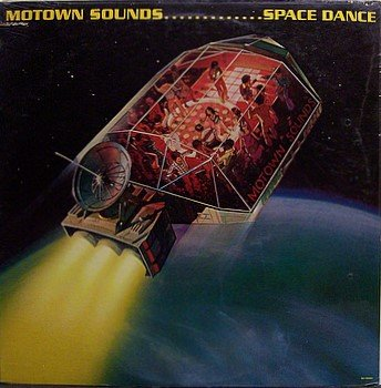 Motown Sounds - Space Dance - Sealed Vinyl LP Record - Michael L. Smith - R&B Soul