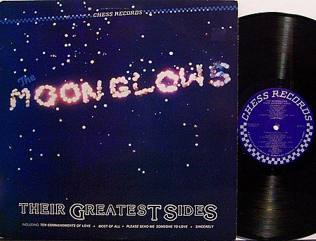 Moonglows, The - Their Greatest Sides - Vinyl LP Record - R&B Soul Doo Wop