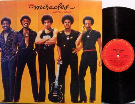 Miracles, The - Love Crazy - Vinyl LP Record - R&B Soul