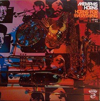 Memphis Horns - Horns For Everything - Sealed Vinyl LP Record - R&B Soul