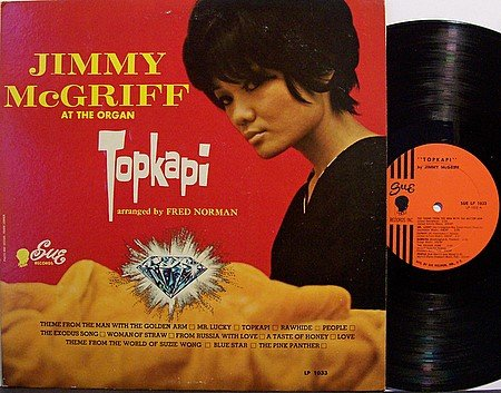 McGriff, Jimmy - Topkapi - Vinyl LP Record - R&B Soul