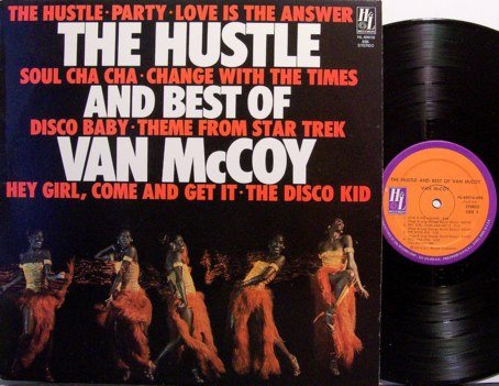 McCoy, Van - The Hustle And Best Of - Vinyl LP Record - Disco Dance