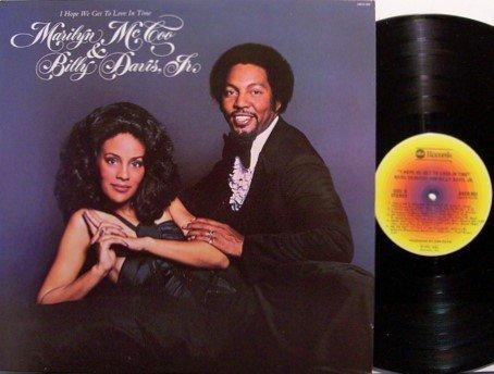 McCoo, Marilyn & Billy Davis Jr - I Hope We Get To Love In Time - Vinyl LP Record - R&B Soul