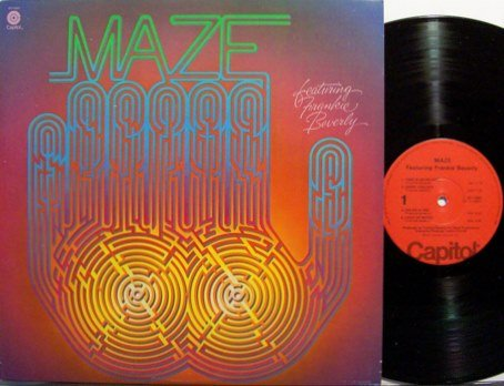 Maze - Featuring Frankie Beverly - Vinyl LP Record - R&B Soul