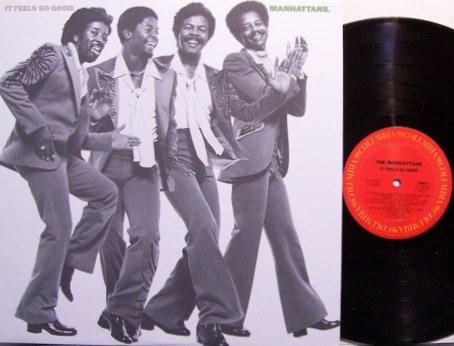 Manhattans, The - It Feels So Good - Vinyl LP Record - R&B Soul