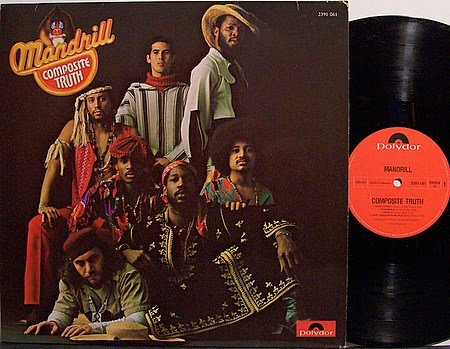 Mandrill - Composite Truth - Vinyl LP Record - Germany Pressing - R&B Soul