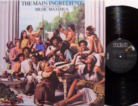 Main Ingredient, The - Music Maximus - Vinyl LP Record - R&B Soul