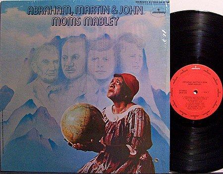 Mabley, Moms - Abraham Martin & John - Vinyl LP Record - R&B Soul
