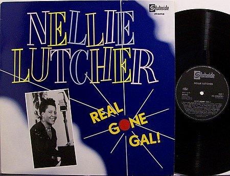 Lutcher, Nellie - Real Gone Gal - Vinyl LP Record - UK Pressing - R&B Jazz Blues
