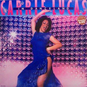 Lucas, Carrie - In Danceland - Sealed Vinyl LP Record - R&B Disco Dance
