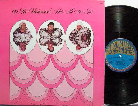 Love Unlimited Orchestra - He's All I've Got - Vinyl LP Record - R&B Soul