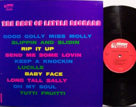 Little Richard - The Best Of Little Richard - Vinyl LP Record - R&B Soul